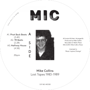 Mike Collins - Lost Tapes
