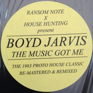 Boyd Jarvis - The Music Got Me