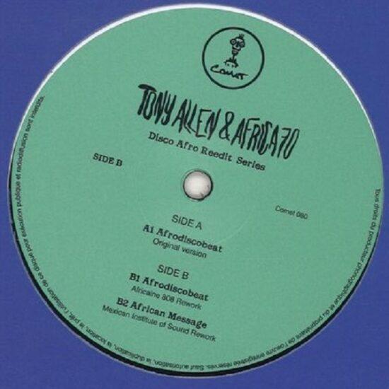 Tony Allen & Africa 70 - Afro Disco Beat: Disco Afro Reedit Vol 2