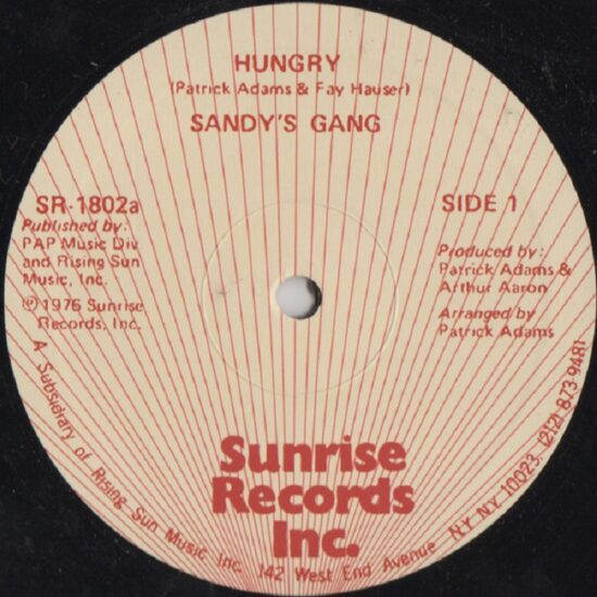 Sandy's Gang - Hungry