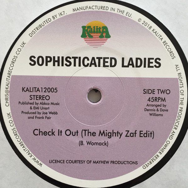 Sophisticated Ladies This Ain T Really Love 12 Quot Dig