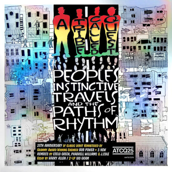 A Tribe Called Quest - People's Instinctive Travels And The Paths Of Rhythm LP (25th Anniversary Edition)