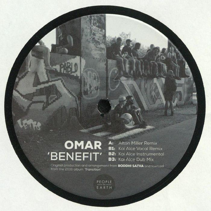 Omar – Benefit (Alton Miller & Kai Alce mixes) [People Of Earth]